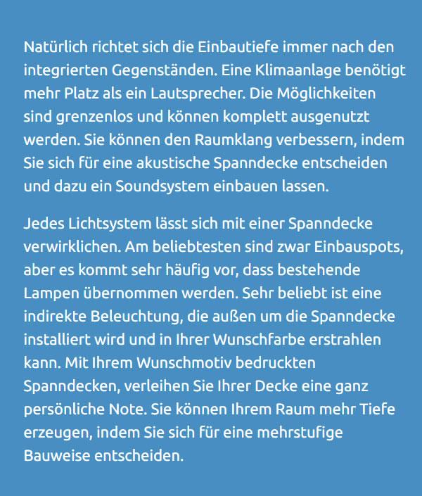 Spanndecke kaufen für  Rheine